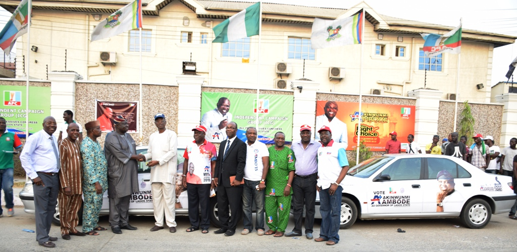 Ambode's Campaign Boosted with Cars Donation
