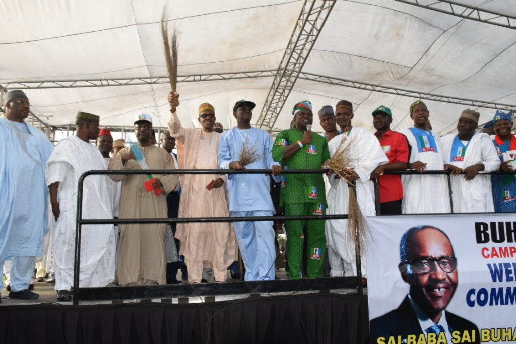 When the Arewa Community in Lagos Rallied for Ambode, Buhari
