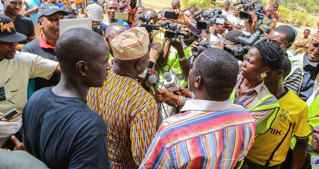 """""""Extend Time of Voting"""" – Ambode Tells INEC"""