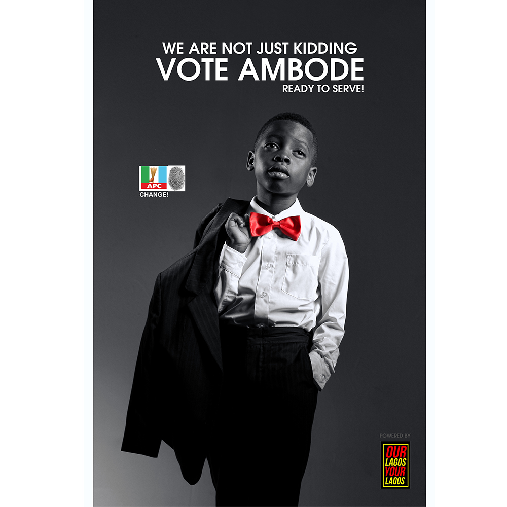 We are not Just Kidding, Vote Ambode – #Ambo2015