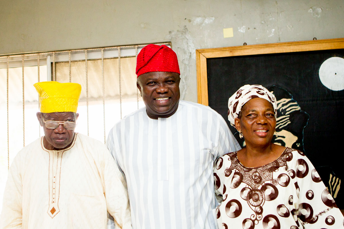 Ambode Visits Former Governors of Lagos State