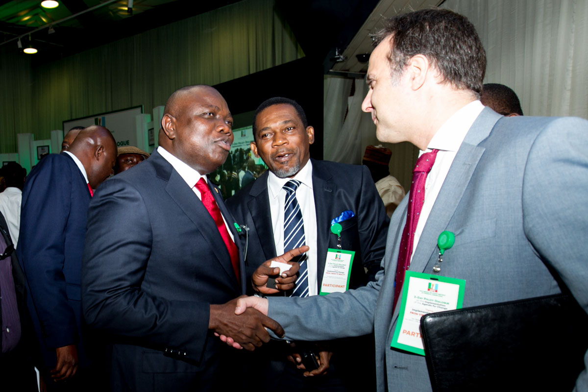 Akinwunmi Ambode Attends APC Policy Dialogue in Abuja