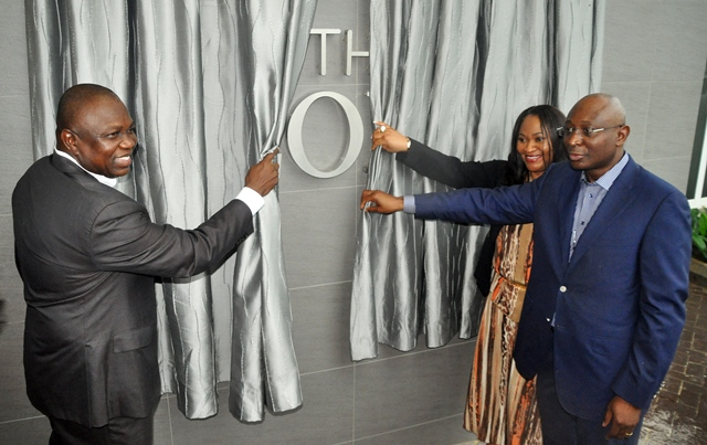 Gov. Ambode at Commissioning of the George, Ikoyi [Photos]