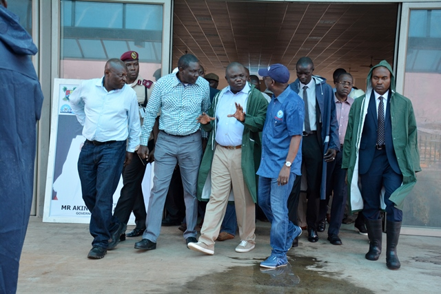 Ambode Inspects Mile 2-Badagry Road Expansion, Says Work Will Continue in Earnest …Backs Badagry Deep Sea Port Project