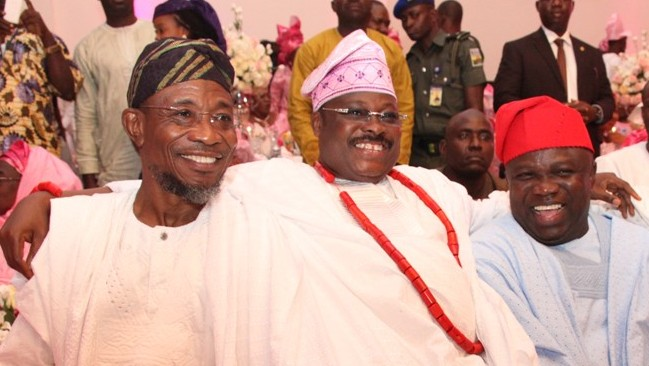 Governor Ambode at Oyo State Governor's Daughter Wedding in Ibadan [Photos]