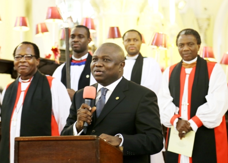 Lagos State Governor, Mr. Akinwunmi Ambode reiterates commitment to carry out Legal Reforms