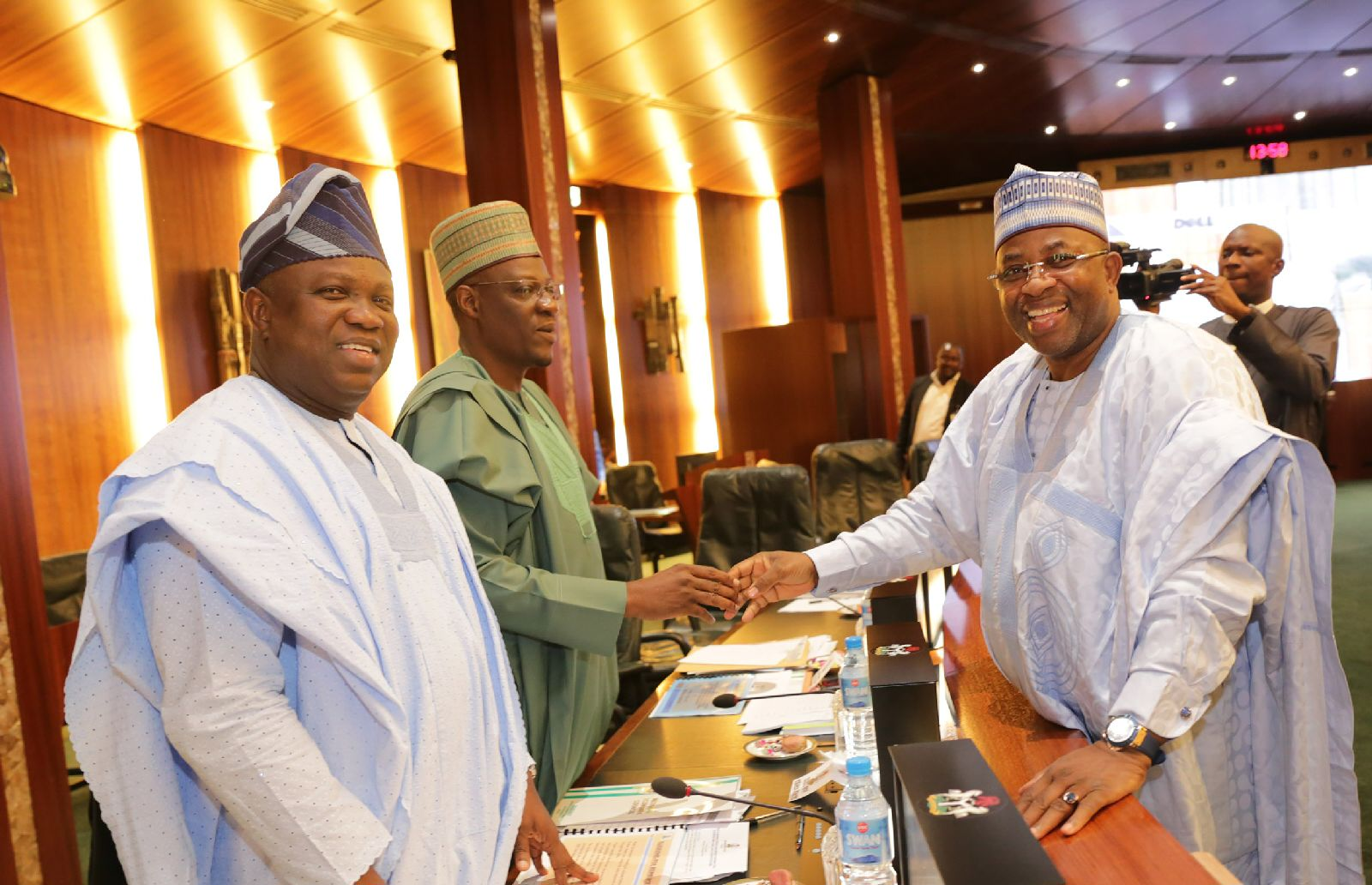 Lagos State Governor, Mr. Akinwunmi Ambode attends NEC meeting in Abuja