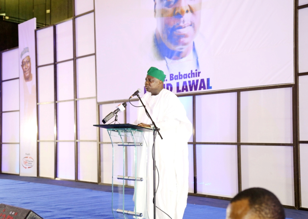 Pictures: Gov. Ambode at Thanksgiving Service & Reception for Engr. Babachir David Lawal as Secretary to The Government of The Federation In Abuja