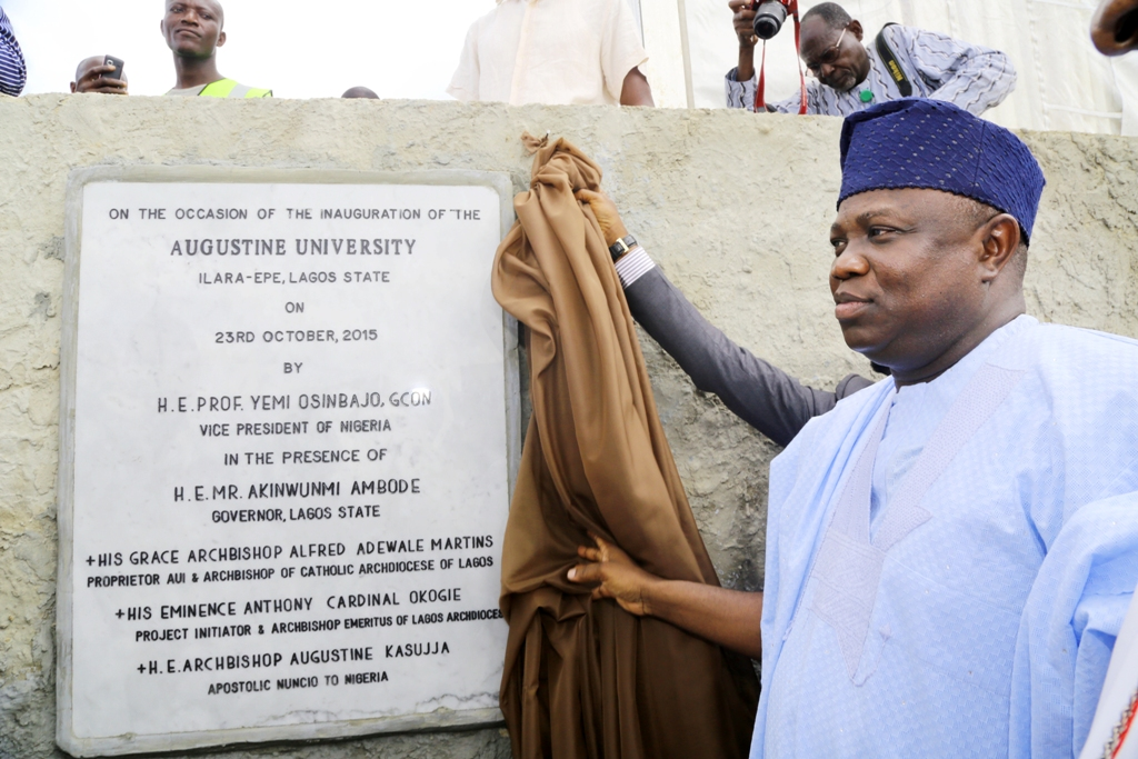 Pictures of the Inaugural Ceremony of Augustine University, Ilara Epe, On Friday, 23rd October, 2015.