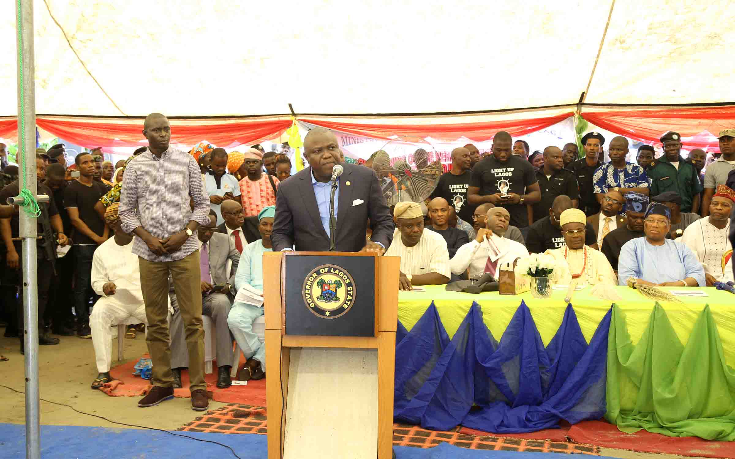 Address Delivered By His Excellency, Mr. Akinwunmi Ambode, The Governor Of Lagos State At The Commissioning Of Community Electricity Project For 68 Communities In Ibeju-Lekki On Thursday 24th March, 2016