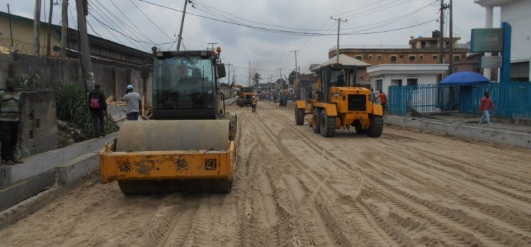 Pictures: On-Going Rehabilitation of Dillion Street Kirikiri Town