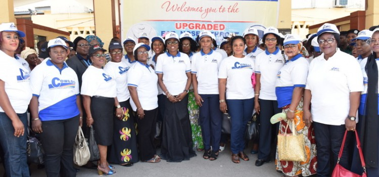 Committee of Wives of Lagos State Officials (COWLSO) Upgrades E.N.T Dept., Sponsors Women For Goitre Surgery
