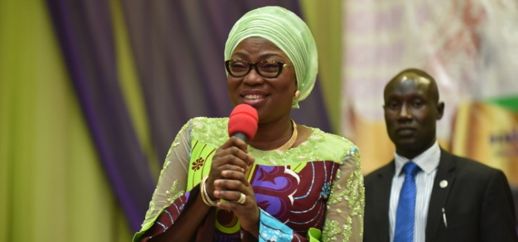 Wife Of Lagos State Governor, Mrs. Bolanle Ambode, Tasks Girls On The Importance Of Education