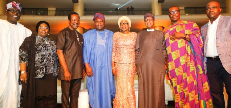Pictures: Governor Akinwunmi Ambode At AFRIMA Award Ceremony