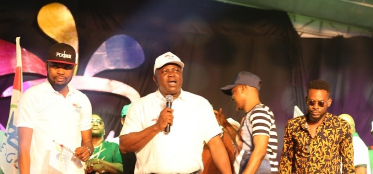 Pictures: Governor Akinwunmi Ambode at the One Lagos Fiesta, Epe