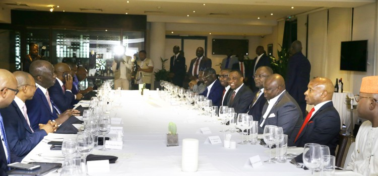 Pictures: Governor Akinwunmi Ambode At the Lagos State Security Trust Fund Appreciation Dinner For Platinum Donors