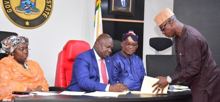 Remarks Delivered At The Signing Into Law Bills On Kidnapping, Sports Trust Fund And Sports Commission On Wednesday 1st February 2017 At Lagos House, Ikeja