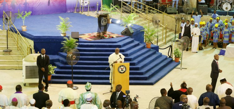 Goodwill Message Delivered By His Excellency Mr. Akinwunmi Ambode, At The Christian Association Of Nigeria (C.A.N) Lagos State Chapter, Annual Inter-Denominational Service For Lagos State Government