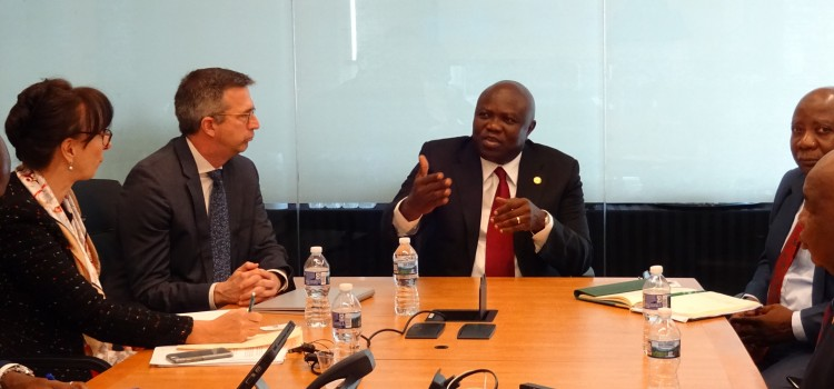 Pictures: Governor Ambode Meets With President of General Electric Africa,  the Senior Executives of Microsoft Corporation in Washington DC