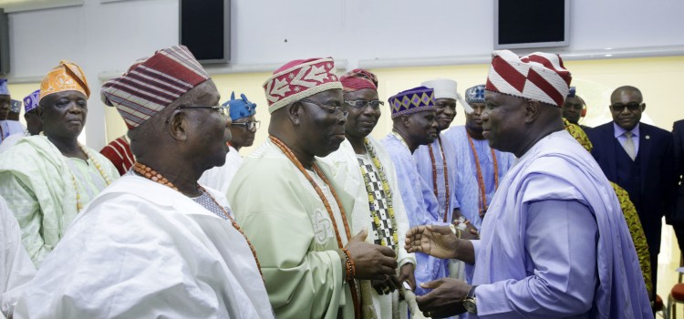 Ensure Peace, Security In Your Communities, Governor Ambode Urges Traditional Rulers