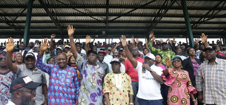 Photos: Governor Ambode Attends APC Presidential Primary In Epe