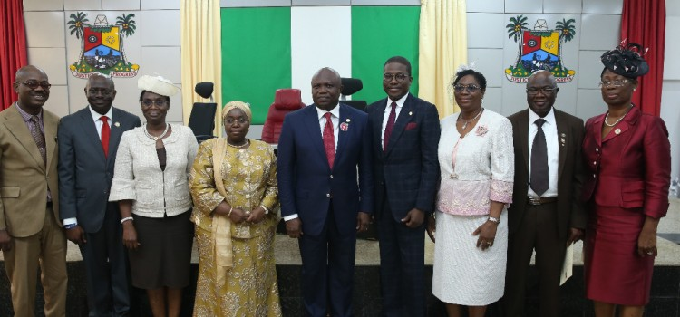 Address Delivered By Governor Akinwunmi Ambode At The Swearing In Ceremony Of Newly Appointed Permanent Secretaries