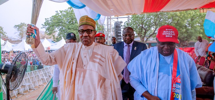 Pictures: Governor Ambode Attends APC Campaign Rally In Edo