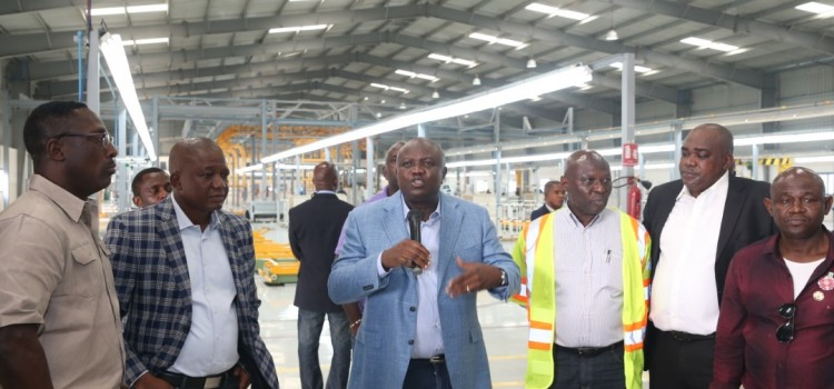 Pictures: Governor Ambode Inspects On-Going Lagos Bus Reform Projects