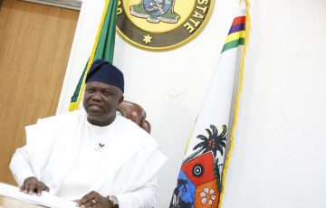 Farewell Address By His Excellency, Governor Akinwunmi Ambode, At The End Of His Administration As Governor Of Lagos State