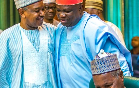 Pictures: Ambode Attends Valedictory NEC Meeting Held At The Presidential Villa, Abuja.
