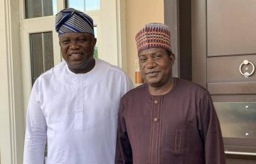 Akinwunmi Ambode Selected as Deputy Chairman of  South West Subcommittee of APC Contact and Strategy Committee